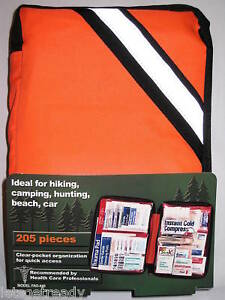 205 Piece Outdoor First Aid Kit  FAO-440