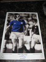 RARE LIMITED EDITION COLIN JACKSON HAND SIGNED 16 X 12 PHOTO RANGERS