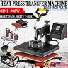 8 In 1 Digital Heat Press Machine Sublimation forT-Shirt /Mug/Plate Hat Printer