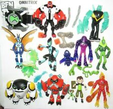 "Playmates 2017 Ben 10 4"" scale figure lot of 10 & Omnitrix watch complete"