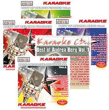 Deutsche Superstars Karaoke 5 CD+Gs im Set - Helene Fischer, A. Berg, Neu ! OVP!
