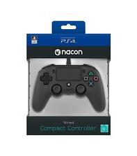 Mando con cable Nacon Compacto negro para PS4 PC NUEVO envio gratis