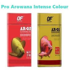 Ar arowana carnivorous fish food pellet AR-G1G2 enhancer accelerate growth
