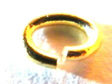"""9ct Gold Jump Ring Oval-""""Open"""" 5mm -Findings-Jump Rings-Beads-Jewellery Making"""