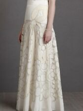 ANTHROPOLOGIE/BHLDN There is Only You & Me Couturier Skirt 12 $650 Organza Skirt