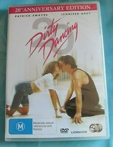 DIRTY DANCING DVD 2 Discs 25th Anniversary Edition NEW SEALED Reg 4 see below