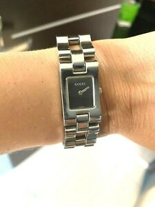 AUTHENTIC GUCCI WOMEN'S STAINLESS STEEL WRIST WATCH 2305L