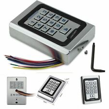 Nonwaterproof Metal Access Control Panel With Keypad And Card Reader Rfid 125khz