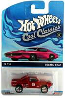 2015 Hot Wheels Cool Classics #29 Subaru Brat pink car on card