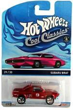 2015 Hot Wheels Cool Classics #29 Subaru Brat pink car on card