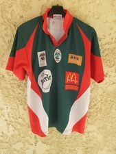 Maillot Rugby Club de NÎMES vintage French Flair shirt vert Perrier S
