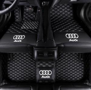 Luxury customization  For Audi A3 A4 A5 A6 A7 A8  TT Car Mats