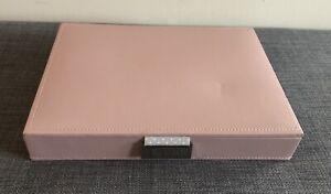 John Lewis Stackers Pink Jewellery Box