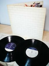 Pink Floyd The Wall + Inners ♫LISTEN♫ UK LP Harvest SHDW 411 1979 EX