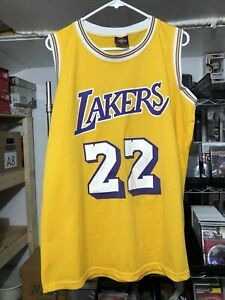 Elgin Baylor Lakers Jersey Printed By Links Marketing Group XL Exclusive