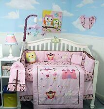 PINK CRIB BEDDING SET MY LITTLE PRINCESS Infant Baby Girl Nursery 14 Pc Quilt+