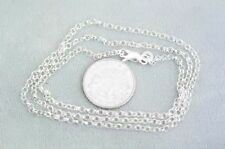 Sterling Silver Unisex Chains & Necklaces