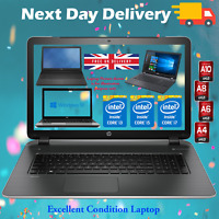 "Cheap Laptop HP, Dell, Acer 15.6"" Core i3 i5 AMD 4GB 8GB RAM 1TB HDD SSD Win 10"