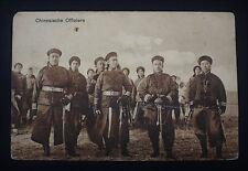 "Postkarte ""Chinesische Offiziere"" gelaufen Tsingtau China Kolonien"