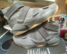 Nike Lebron Soldier 11 XI Grey/Gum SFG Camo Finals sz 16 jordan 1 og xiv xv 15 i