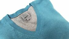 M&S - Mens Finely Knitted Cotton 'V' Neck Jumper - Medium - New without tags.