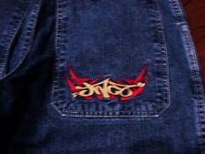 Vintage 90's Skater Wide Leg JNCO Jeans Pants 30 x 30 Tribal Deep Pockets # JNCO