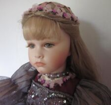 "Wooden Jointed Collectible 20"" Doll"