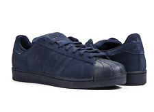 Adidas Superstar RT Indigo Blue Night Suede Shell Toe Mens 10 Sneakers Navy