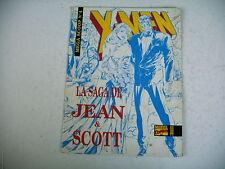 BD X MEN marvel mega scoop n° 4 la saga de jean et scott 1994