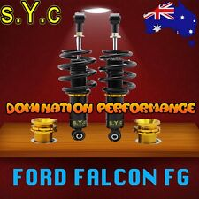 FORD FG FALCON SYC Rear Coilovers Only Fully Adjustable Coilover Set