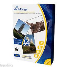 MRINK-107] 100 Blatt Mediarange Fotopapier High Glossy DIN A4 135g/m² Hochglanz