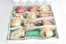 Inge Glas Collection Weihnachtskugeln alt Ovp # T2