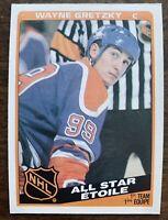 1984-85 Topps #154 Wayne Gretzky ALL STAR Edmonton Oilers ~ NM/MT