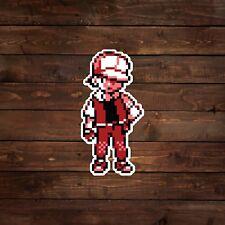 8-Bit Trainer Red (Pokemon) Decal/Sticker