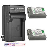 Kastar Battery AC Wall Charger for EN-EL9a MH-23 & Nikon D40 SLR Digital Camera