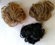 KOKO Messy Clamp Bun, Hair Scrunchies Hair Bun Extensions Curly Wavy Bun Pieces