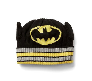 baby Gap BOYS BATMAN Justice League beanie HAT NWT SMALL MEDIUM LARGE N6