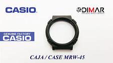 CAJA/CASE CENTER  CASIO MRW-45 NOS  ( SIN CRISTAL )