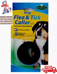 Beaphar Canac Water Resistant Dog Flea  And Tick Collar Effective For 4 Months