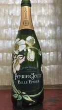 LUMINOUS LIGHT UP PERRIER JOUET FLEUR BRUT 750ML CHAMPAGNE BOTTLE EMPTY