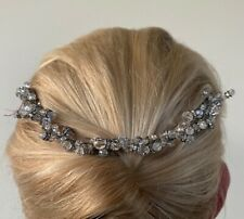 Fenaroli for Regalia M568 Silver Swarovski Crystal Tiara Bridal Headpiece