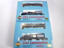 HO Scale Proto 2000 23437 Erie Railroad FA1 FB1 A/B Diesel Locomotive Set