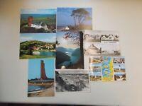 Vintage Tarjetas Postales/Tarjetas Postales Buque & Travesía,8 Piezas,#K-79-225