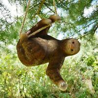 Climbing Sloth Tree Hanging Garden Tree Ornament Sculpture Statue Decoration