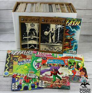 Lot of 160: DC Comics 1980's 90's & 2000's Various Titles, Flash Justice League+