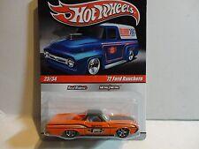 Hot Wheels Slick Rides #23 Orange '72 Ford Ranchero w/Real Riders