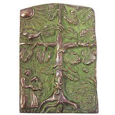 Bronce relief vida árbol famlilie 13 cm * 9 cm bronce relief Tree of Life
