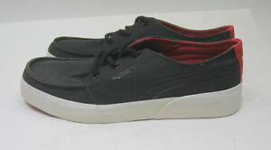 new Puma Shoes Canvas Lo Hawthorne Xelo Black/Red Sneakers   MEN Size 8.5