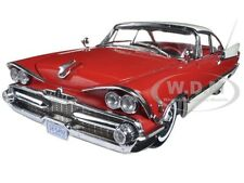 1959 DODGE CUSTOM ROYAL LANCER HARD TOP RUBY PEARL 1/18 PLATINUM BY SUNSTAR 5492