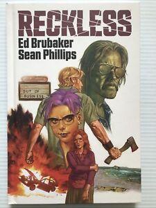 RECKLESS HC Signed Bookplate, Image (2020) 1st Ptg Ed Brubaker/Sean Phillips
